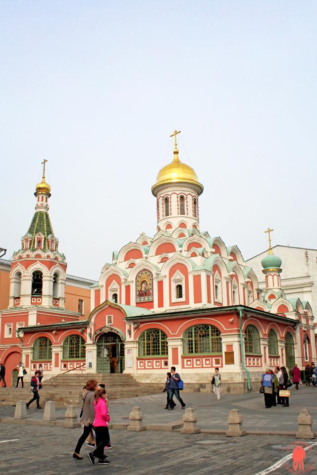 Visiter Moscou Eglise sur place rouge