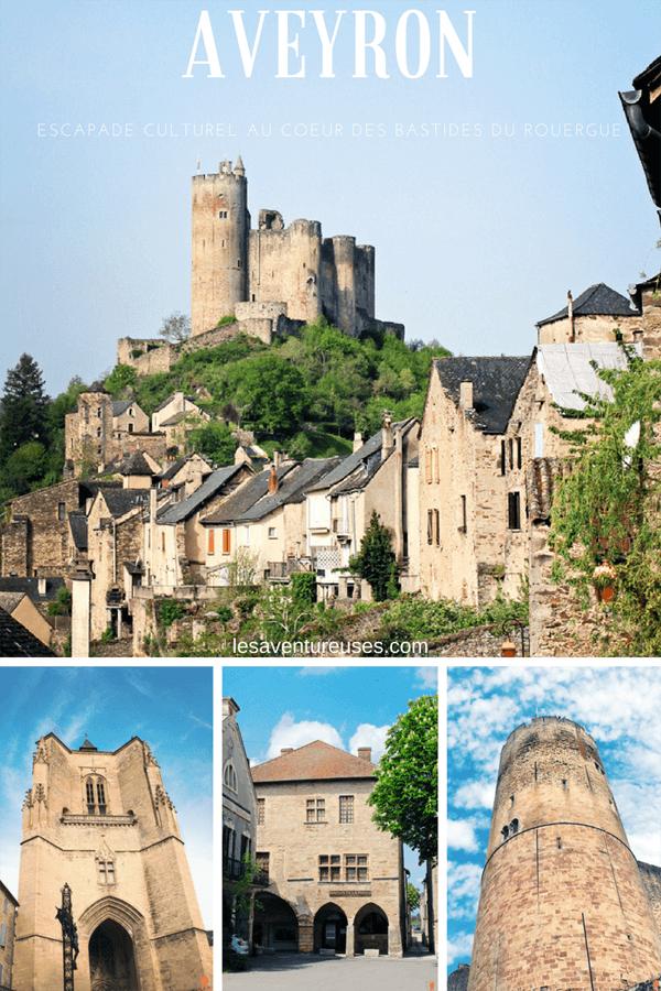 Découvrez les bastides du Rouergue ces villages remarquables d'Aveyron et partez à la rencontre de Villefranche de Rouergue, Najac et Villeneuve d'Aveyron. #Aveyron #Bastides #France