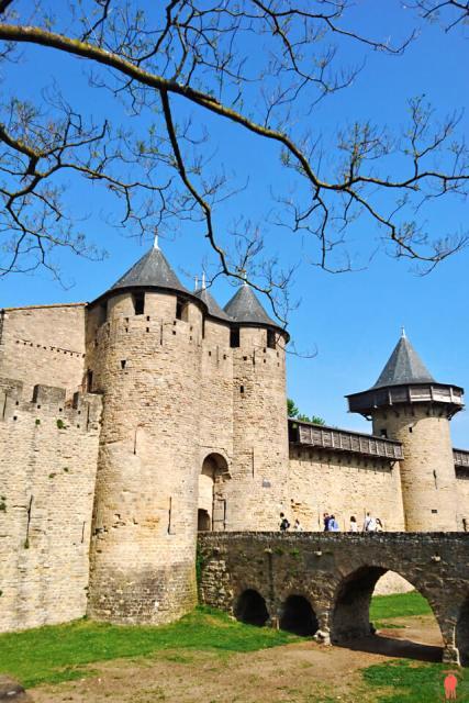 Chateau de Carcassonne Chateaux Cathares