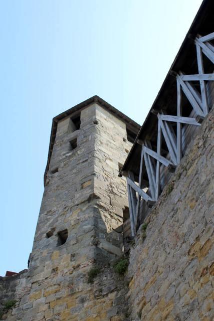 Tour château de Carcassonne - châteaux cathares