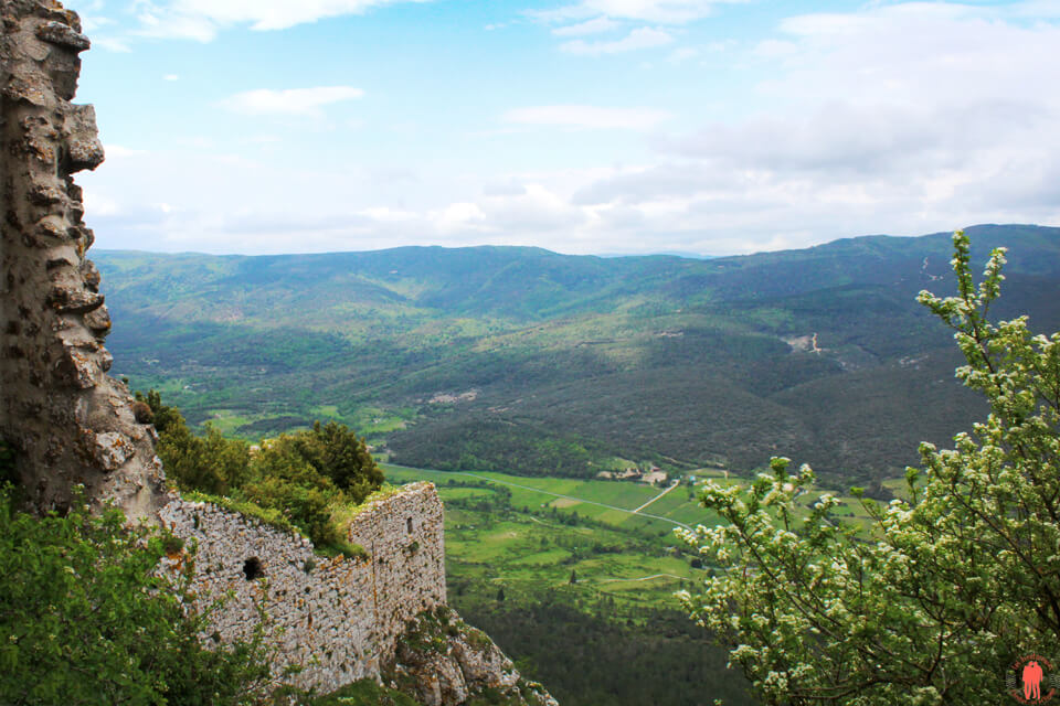 panorama Peyrepertuse - Châteaux Cathares