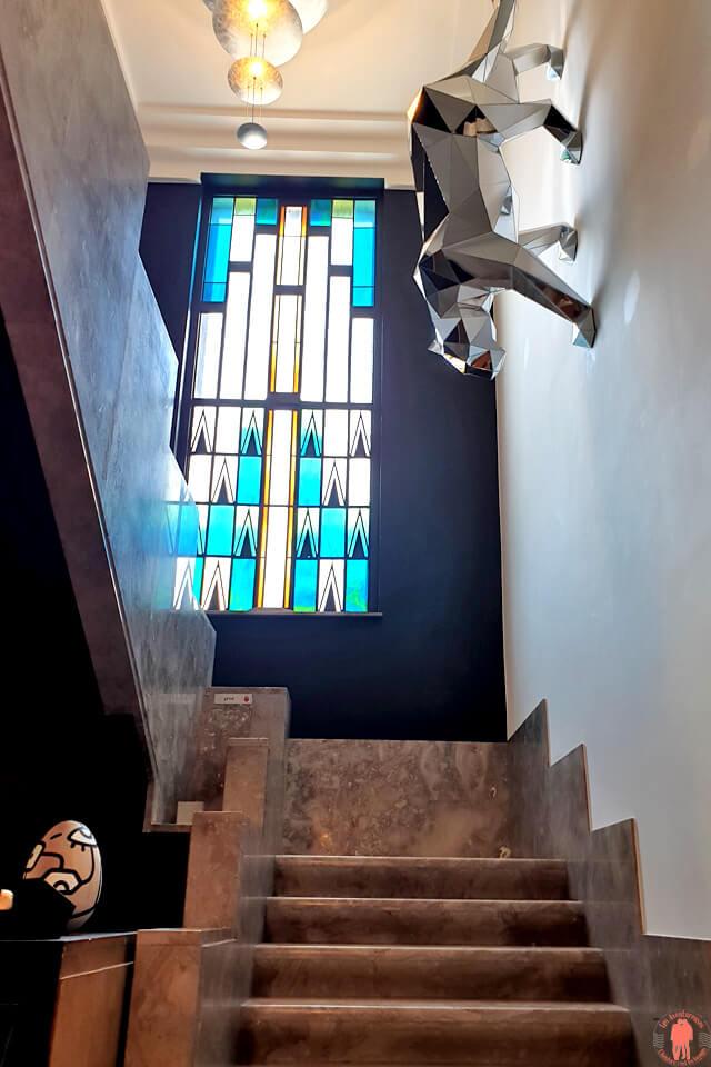 Hall d'entrée Villa Paula