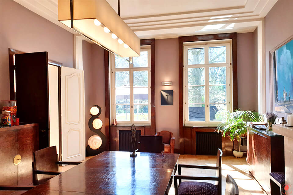 Salle à manger et Mobilier Art Déco Villa Paula Tourcoing proche de Roubaix