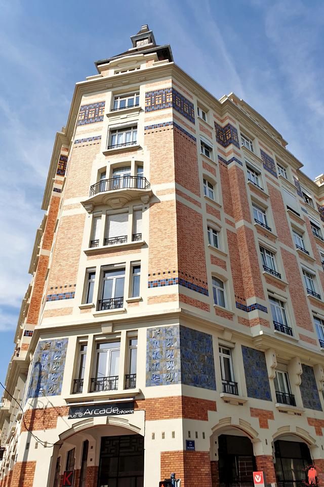 Bâtiment les Arcades Rue de Tourcoing