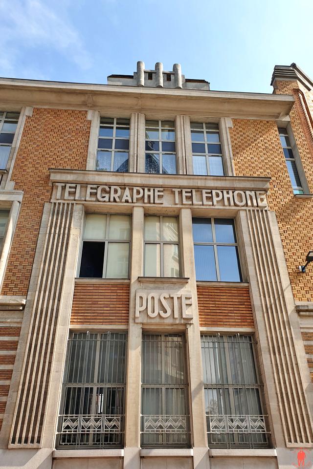 Bâtiment de l'ancienne poste à Tourcoing