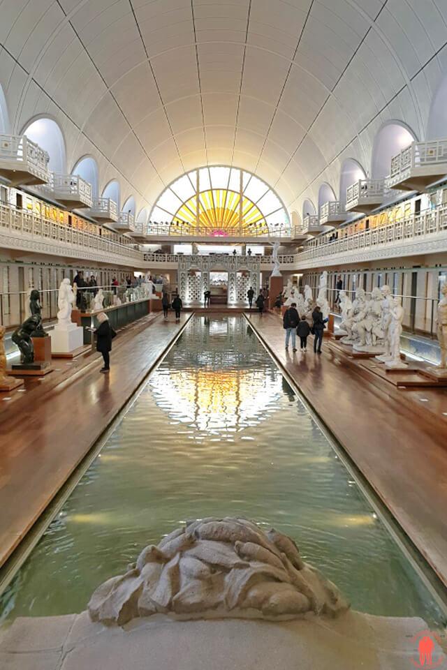 Bassin du musée de la piscine à Roubaix