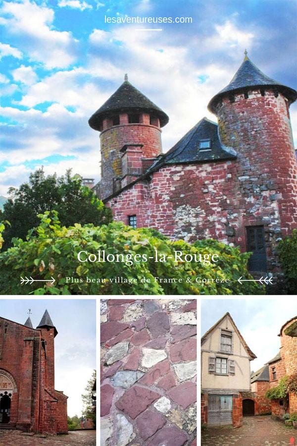 Collonges La Rouge - Plus beau village de France et de Corrèze