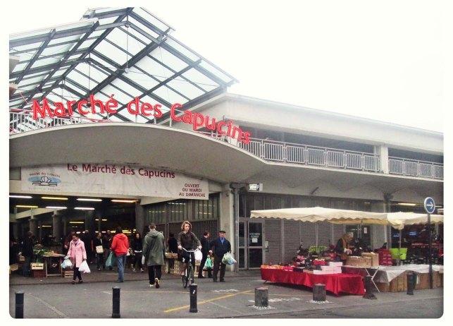 Le marché des Capucins, Bordeaux