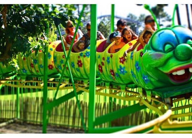kid parc, parc d'attractions Gujan