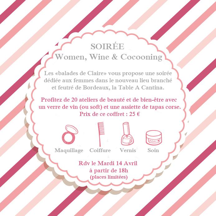 Soirée Women, Wine & Cocooning