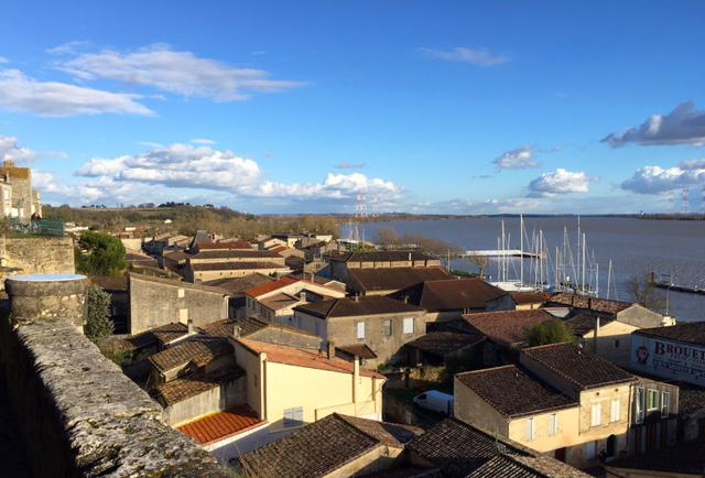 Un après-midi à Bourg sur Gironde