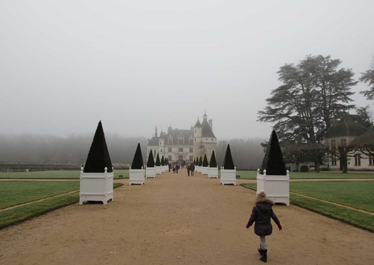 Château de Chenonceau en famille