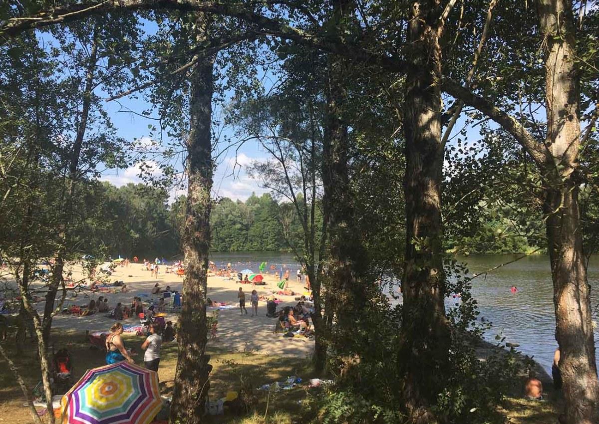 Base de loisirs des Lacs du Moulin Blanc