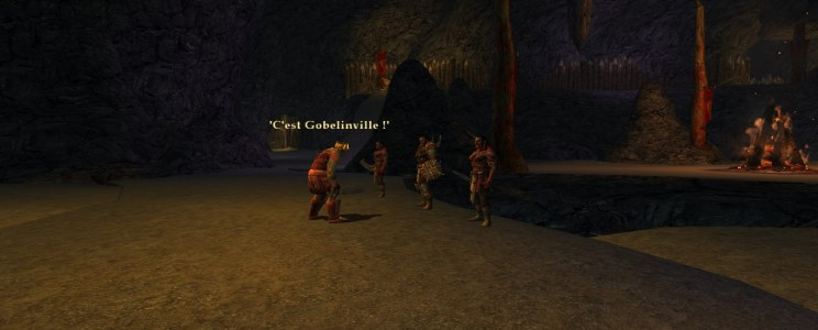 Easter Egg #4: THIS IS GOBLIN-TOWN!