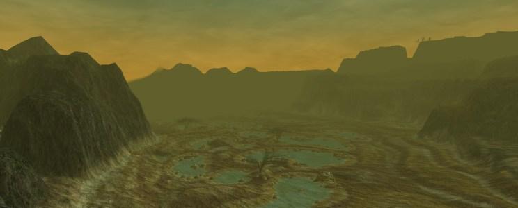L'Angmar en hauteur