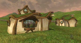 Village Hobbit à l'Ouest de Courte-Cave