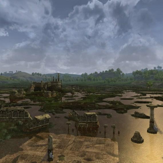 (Supprimé) Point-de-vue n°12: Colline sur le Marais