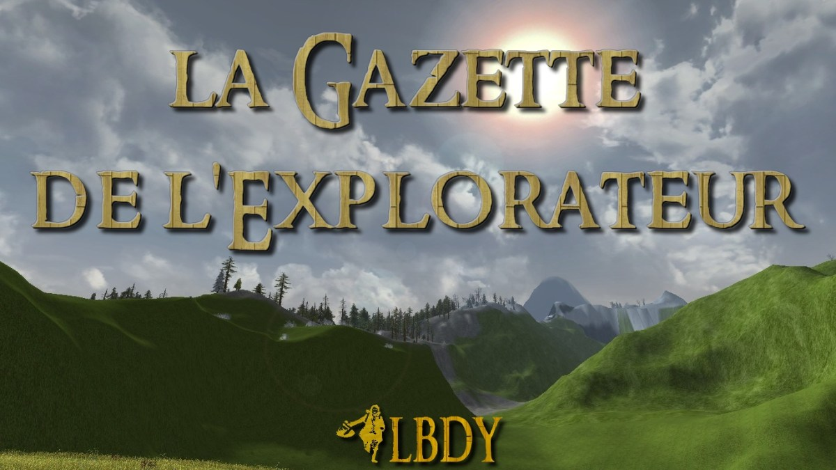 La Gazette de l'Explorateur : Novembre 2017