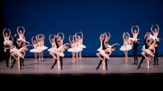 New York City Ballet in George Balanchine's Symphony in C. Photo credit Paul Kolnik