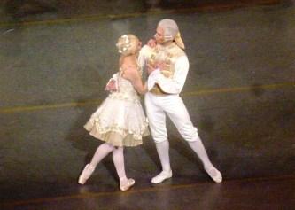 Sarah Lane et Herman Cornejo