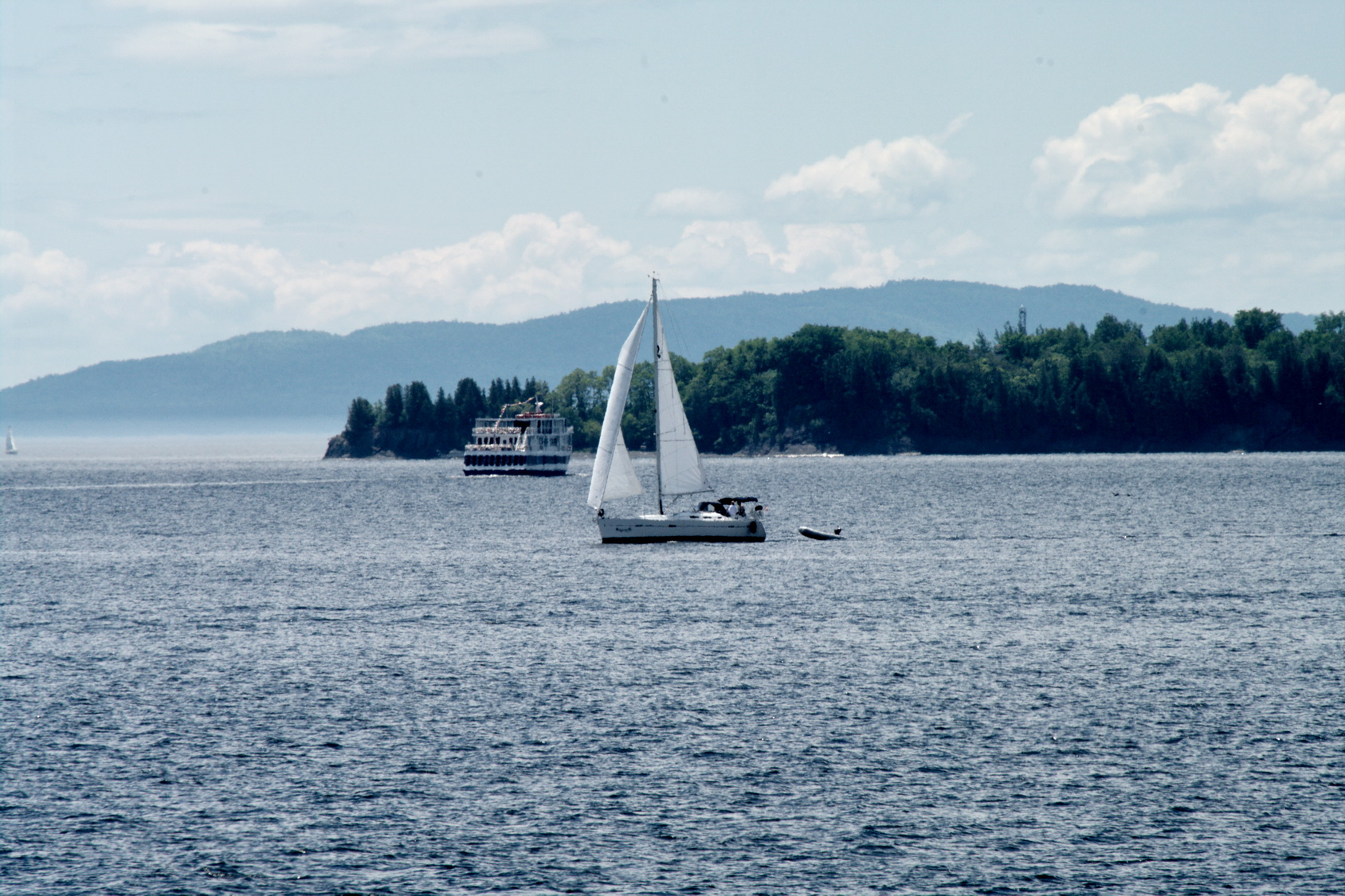 Voir le lac Champlain et... survivre