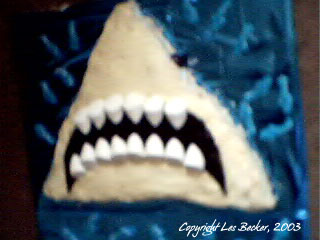 Great White Birthday Cake