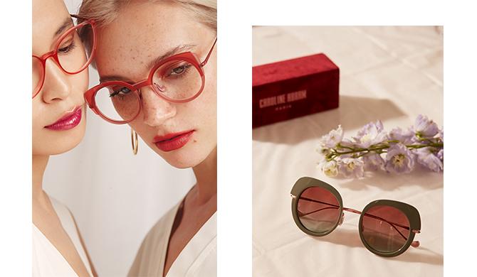 Caroline Abram eyewear lunettes Les Belles Gueules opticien Bordeaux