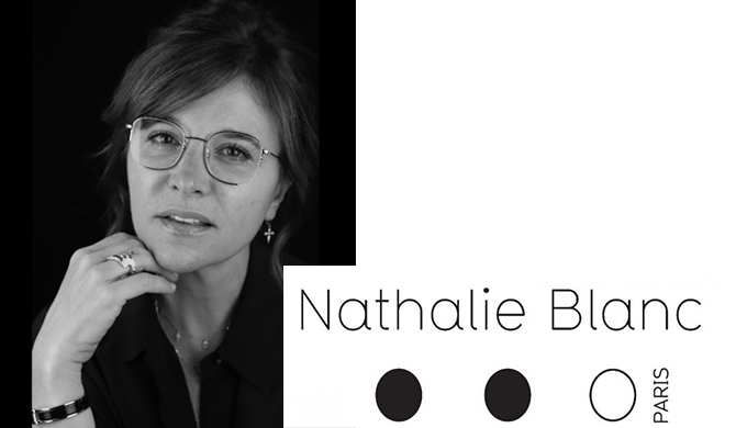 NATHALIE BLANC eyewear lunettes Les Belles Gueules opticien Bordeaux