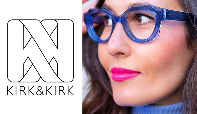 KIRK&KIRK eyewear lunettes acrylic Les Belles Gueules opticien Bordeaux