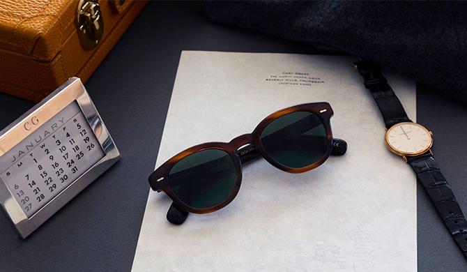 Oliver Peoples X Cary Grant opticien bordeaux Les Belles Gueules