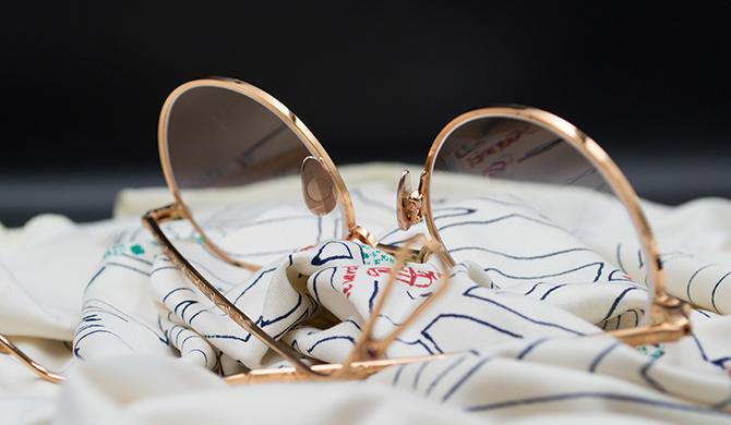 Ahlem édition spéciale lunettes Les Belles Gueules opticien bordeaux