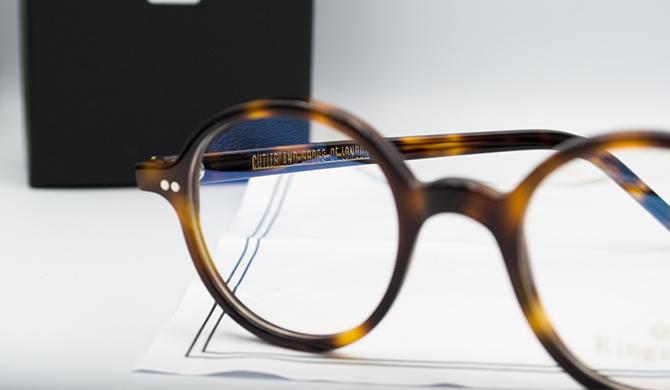 Cutler and Gross eyewear film Kingsman Les Belles Gueules opticien bordeaux