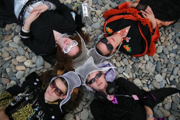 raggalendo en concert dans le cadre du festival Les berniques en Folie à l'Ile d'Yeu