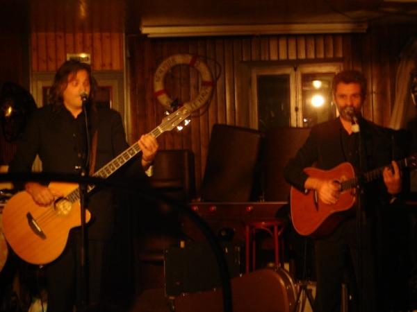 les malpolis en concert dans le cadre du festival Les berniques en Folie à l'Ile d'Yeu