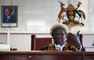 Judge Stephen Kavuma read the verdict.