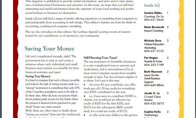 PDF's of print versions of LQ 2004-2006