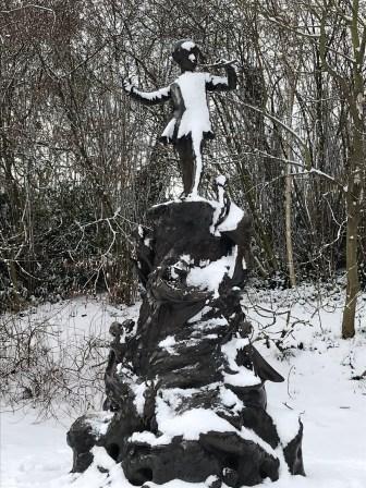 Peter Pan and Snow