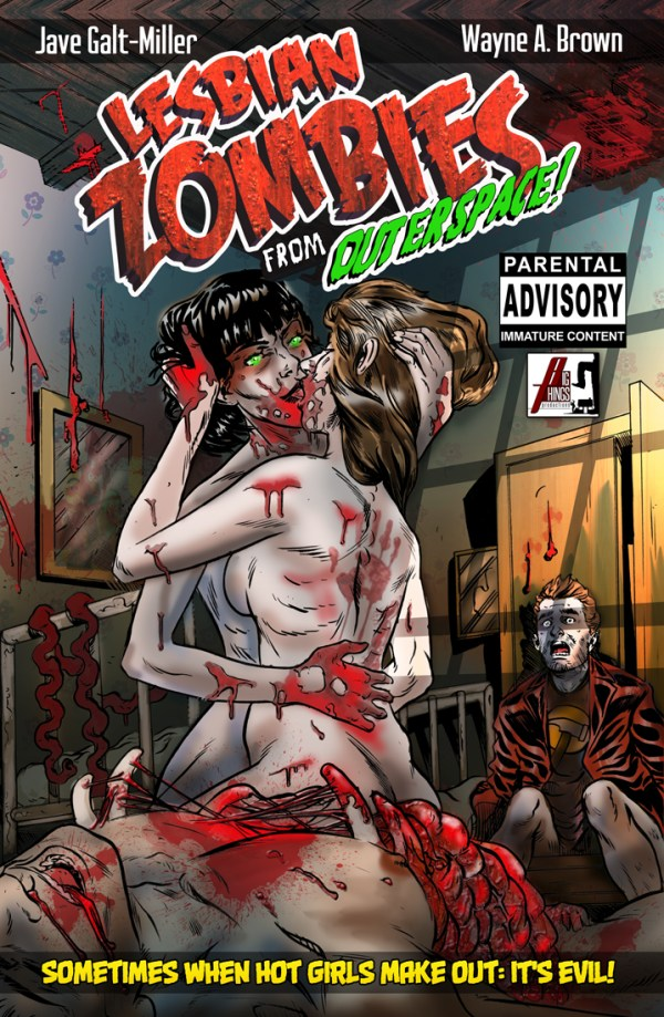 Lesbian Zombies from Outer Space Graphic Novel