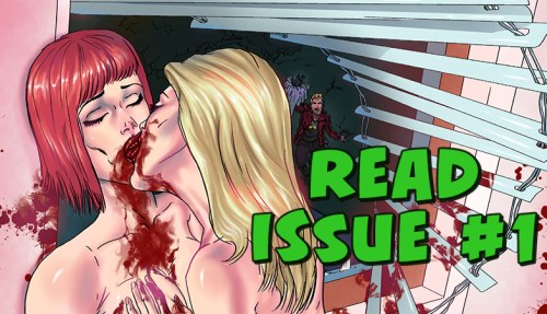 Read Issue 1 of Lesbian Zombies from Outer Space