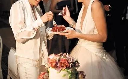 Ellen y Portia vídeos de la boda
