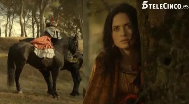 Cristina celosa mira a Isabel y Ruiz