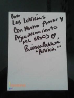 El mensaje de Bianca