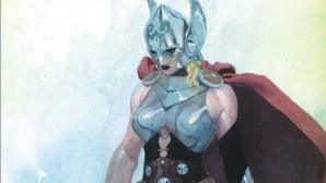 La nueva Thor será mujer