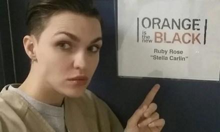 Primeras imágenes de Ruby Rose en el set de Orange is The New Black