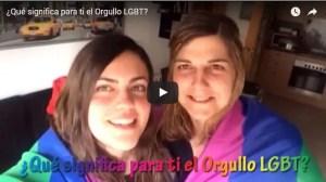 ¿Qué significa para ti el Orgullo LGBT?