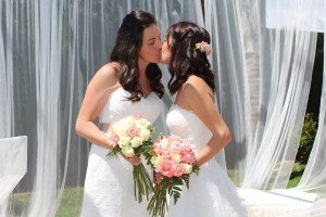 Esta boda lésbica te hará creer en los finales felices