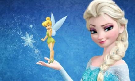 Idina Menzel cree que Elsa debería salir con Tinkerbell en Frozen 2