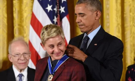 Ellen DeGeneres recibe la medalla de la libertad por su increíble trayectoria
