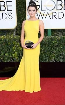 Maisie Williams Golden Globes 2017