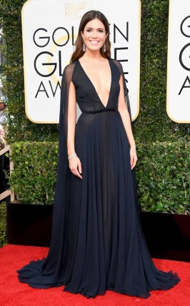 Mandy Moore Golden Globes